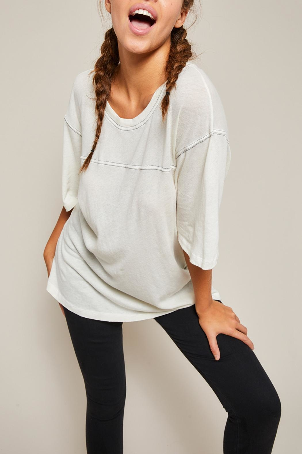 All Things Fabulous Horizon Jersey Tee - Back Cropped Image