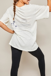 All Things Fabulous Horizon Jersey Tee - Front full body