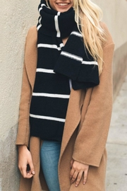 Pretty Little Things Horizontal Stripe Scarf - Front cropped
