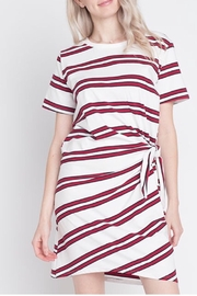 Dreamers Horizontal Stripped Dress - Product Mini Image