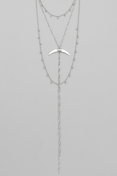 Wild Lilies Jewelry  Horn Lariat Necklace - Alternate List Image