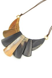Embellish Horn Necklace - Front cropped