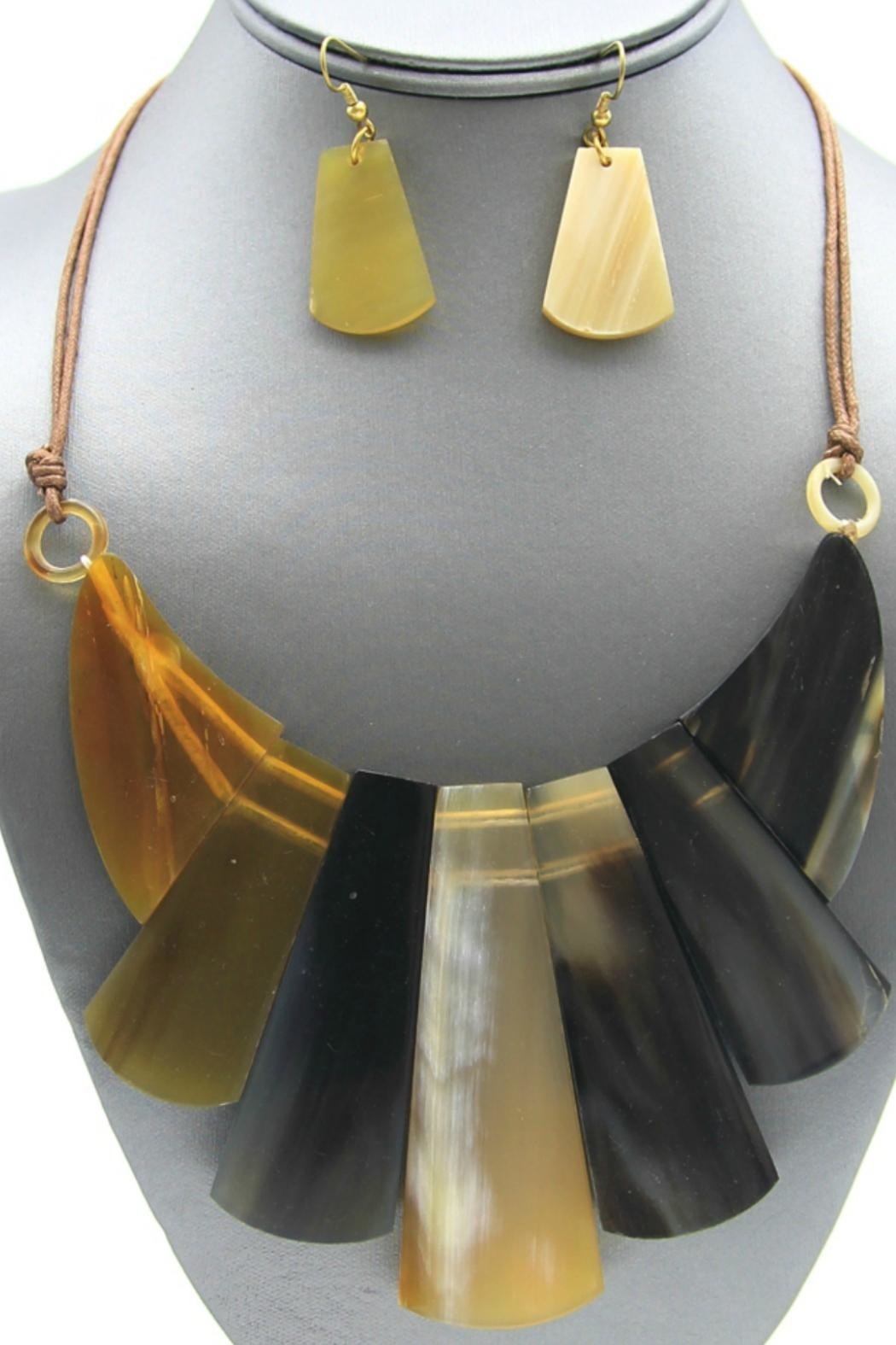 Embellish Horn Necklace - Front Full Image