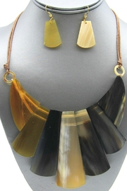 Embellish Horn Necklace - Front full body