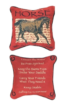 MWW Horse Advice Pillow - Alternate List Image