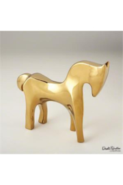 The Birds Nest Horse - Bright Gold - Product Mini Image
