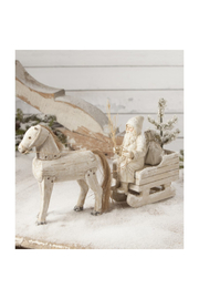 The Birds Nest HORSE DRAWN SLED - Front cropped