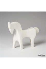 The Birds Nest Horse - Matte White - Product Mini Image