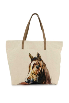 Cott N Curls Horse Tote - Product List Image