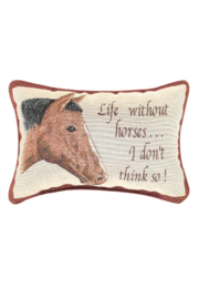 MWW Horse Word-Pillow - Product Mini Image