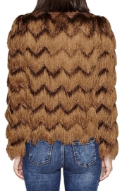 Hoss Intropia Jacket With Fringe - Front full body