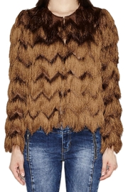 Hoss Intropia Jacket With Fringe - Product Mini Image