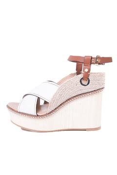Hoss Intropia Leather Wedge Sandal - Alternate List Image