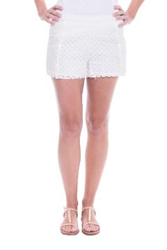Hoss Intropia Symmetrical Cutwork Short - Product List Image