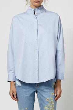 Hoss Intropia Victorian Cotton Blouse - Product List Image