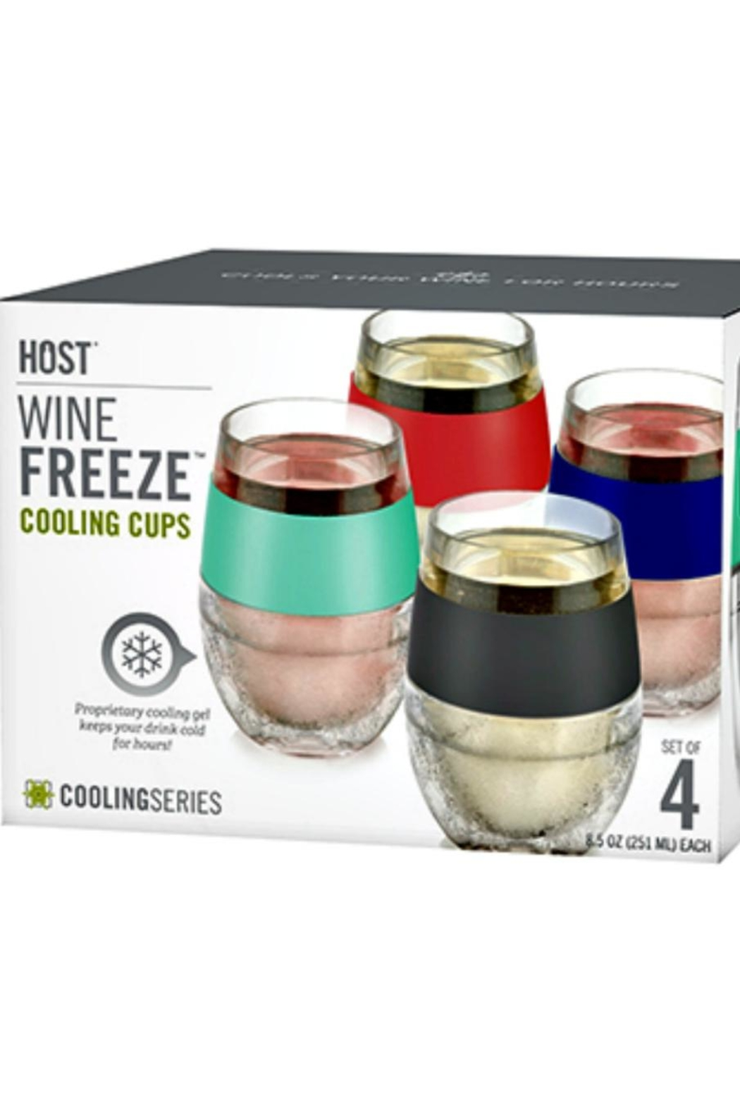 Host Studios Wine Freeze Set - Front Cropped Image