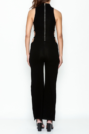 Hot & Delicious Black Widelong Jumpsuit - Back cropped