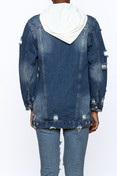 Hot & Delicious Dark Wash Denim Jacket - Alternate List Image
