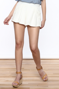 Shoptiques Product: High Waisted Flare Shorts