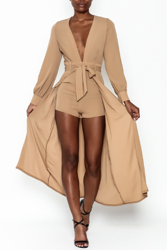 Hot & Delicious High Low Maxi Romper - Product List Image