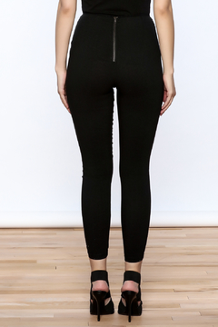 Hot & Delicious Black Lace Up Pants - Alternate List Image