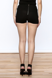 Hot & Delicious Lace Up Shorts - Back cropped