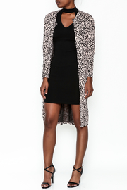 Hot & Delicious Leopard Print Jacket - Front cropped