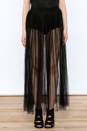Hot & Delicious Mesh Maxi Skirt - Side cropped