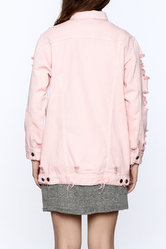 Hot & Delicious Pink Denim Jacket - Alternate List Image
