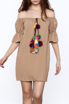 Shoptiques Product: Pom And Collected Dress