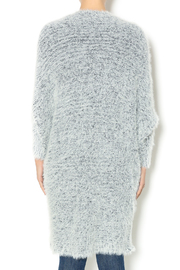 Hot & Delicious Oversize Fuzzy Cardigan - Back cropped