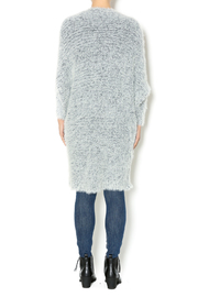 Hot & Delicious Oversize Fuzzy Cardigan - Side cropped