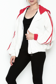 hot and delicious Sporty Hooded Jacket - Product Mini Image