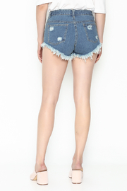 hot and delicious Window Chain Shorts - Back cropped