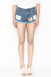 hot and delicious Window Chain Shorts - Front full body