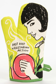 Blue Q Hot, Hot Vegetarian Oven Mitt - Product Mini Image
