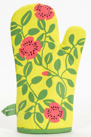 Blue Q Hot, Hot Vegetarian Oven Mitt - Front full body