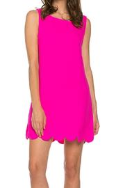 Hot Pink Dress - Front cropped