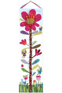 Eeboo Hot Pink Flower Growth Chart - Alternate List Image