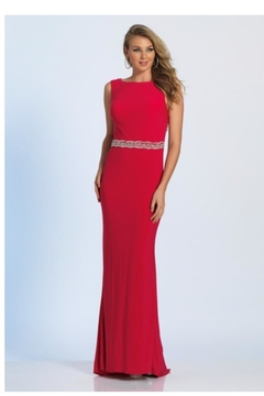 Dave and Johnny Hot Pink Gown - Product List Image