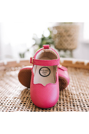 Little Love Bug Company Hot Pink Olivia Mary Jane - Front cropped