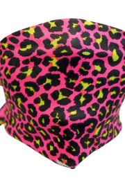 Sox Trot Hot Pink Panther tie mask/headband - Product Mini Image