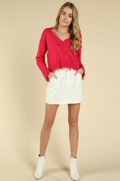 Wild Honey Hot Pink Sweater - Product List Image