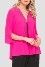 Joseph Ribkoff Hot Pink Top - Product Mini Image
