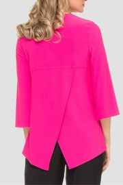 Joseph Ribkoff Hot Pink Top - Side cropped