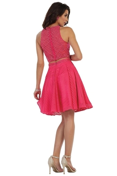 May Queen  Hot Pink Two Piece Short Formal Dress - Alternate List Image