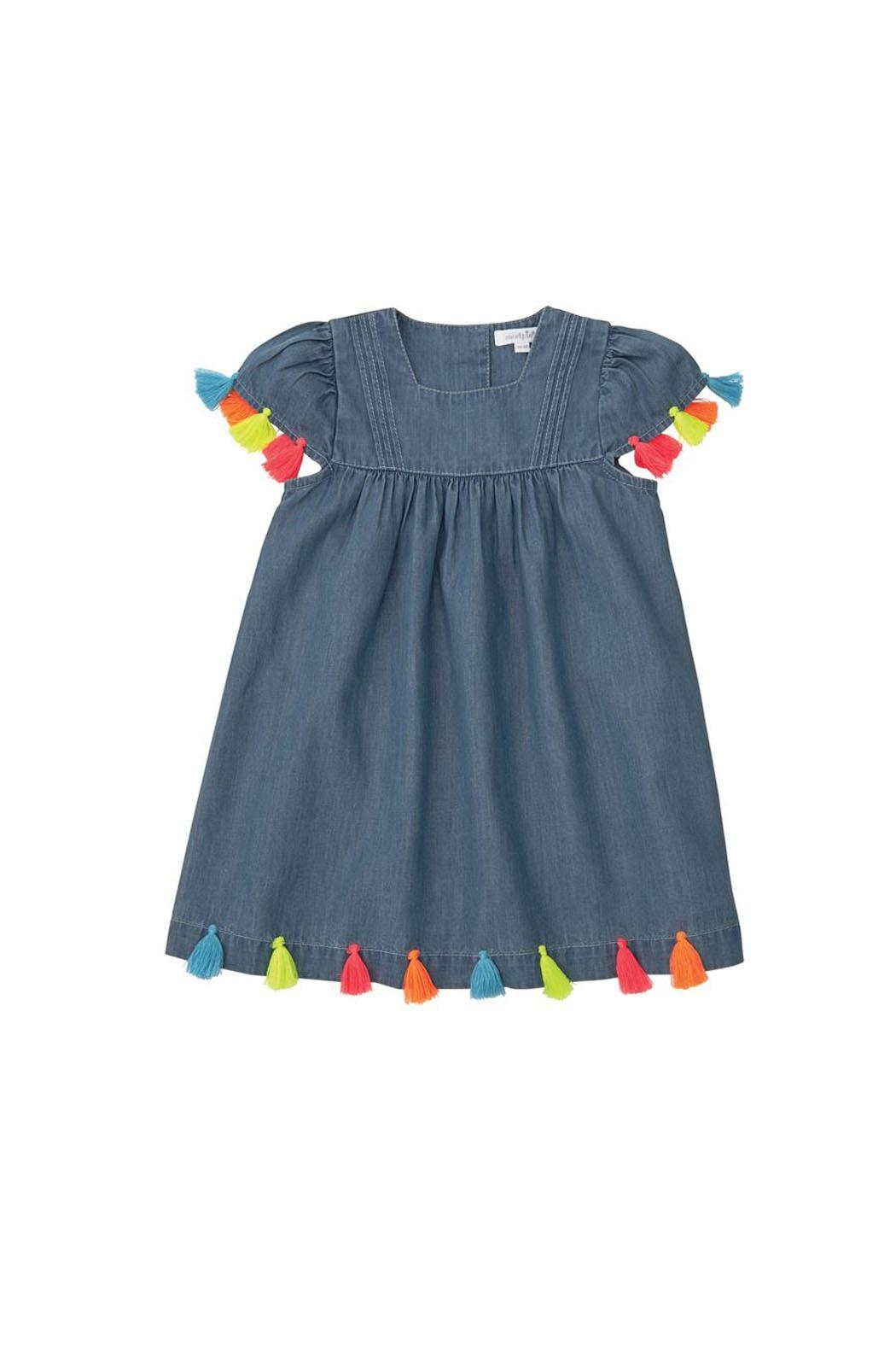MUDPIE Hot Tassel Dress - Main Image