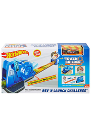 Mattel Hot Wheels Track Builder Rev 'N Launch Challenge - Product Mini Image