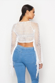 Hot & Delicious Crochet Fringe Top - Side cropped