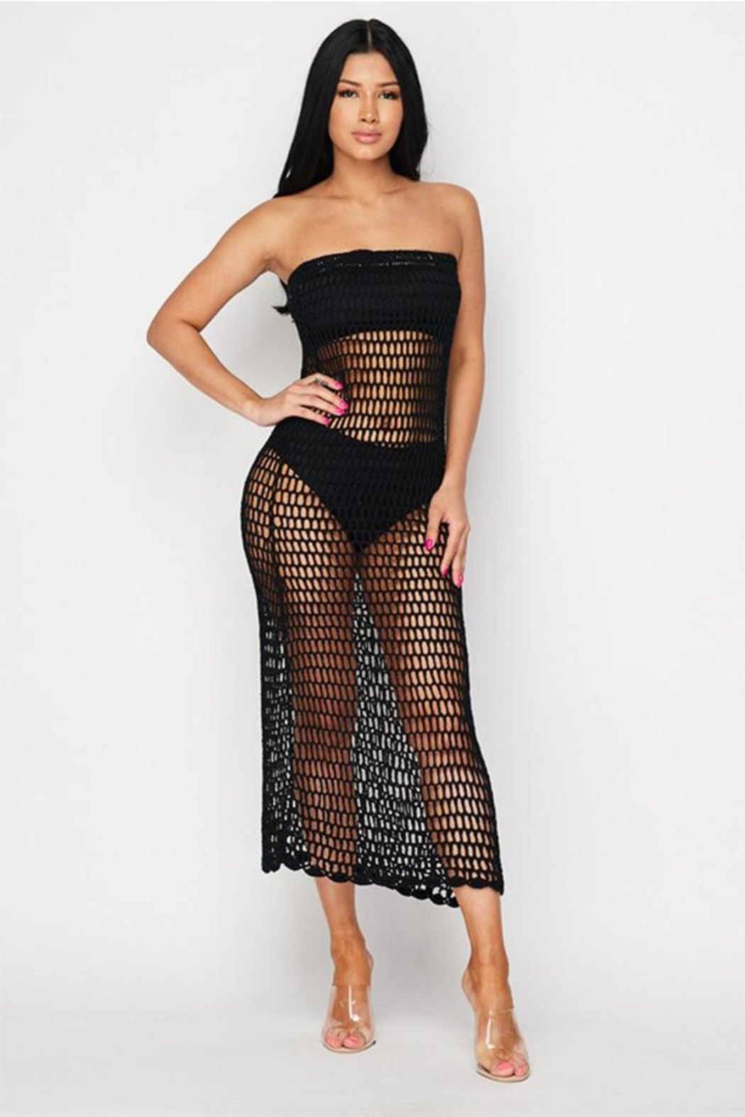 Hot Delicious Crochet Skirt Or Dress From New York By Dor Ldor
